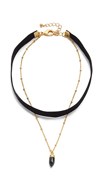 Lacey Ryan Double Dagger Choker Necklace