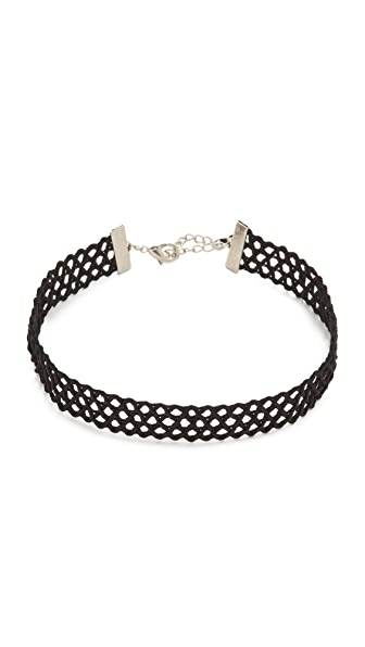 Lacey Ryan Jet Choker Necklace