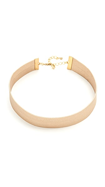 Lacey Ryan Metallic Choker Necklace