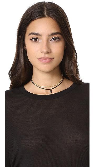 Lacey Ryan Dainty Dagger Choker Necklace