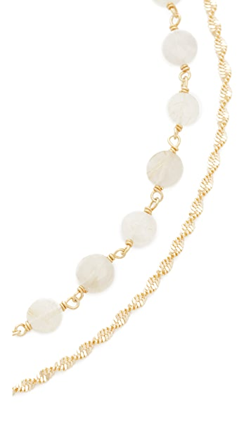 Lacey Ryan Citrine Double Choker Necklace