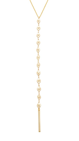 Lacey Ryan Sunburst Lariat Necklace - Gold