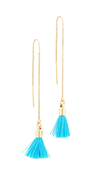 Lacey Ryan Pull Through Earrings - Turquoise