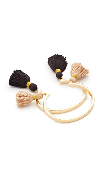 Lacey Ryan Tassel Bangle Set of 2