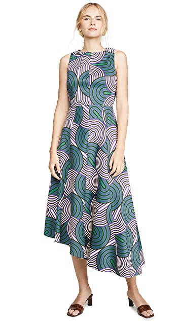 La Double J Sleeveless Pina Dress