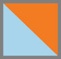 Wildbird Azzurro/Arancio