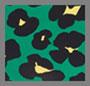 Flower Leopard Verde