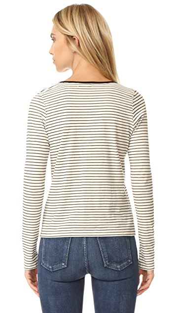 The Lady & The Sailor Relaxed Long Sleeve Tee