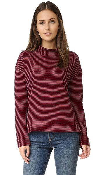 The Lady & The Sailor Mockneck Sweatshirt