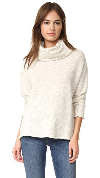 The Lady & The Sailor French Terry Turtleneck