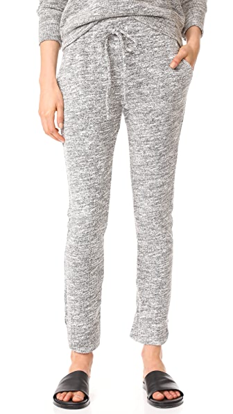 The Lady & The Sailor Track Pants - Melange Knit
