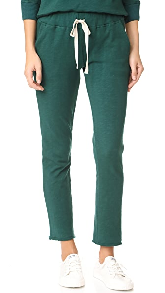 The Lady & The Sailor Ankle Pants In Emerald