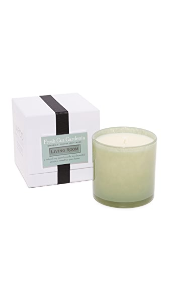 LAFCO New York Living Room Fresh Cut Gardenia Candle