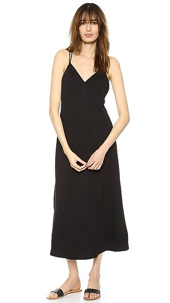 Lanston Cross Back Ankle Dress - Black at Shopbop