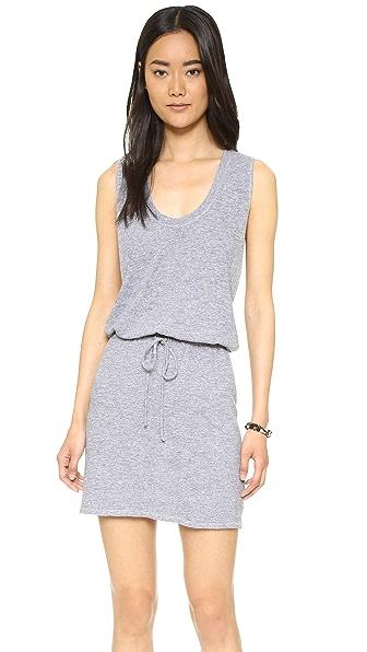 Lanston Twist Back Racerback Dress - Heather at Shopbop