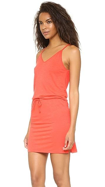 Lanston V Neck Mini Dress