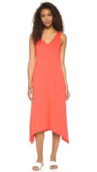 Lanston V Neck Pocket Dress - Calypso at Shopbop
