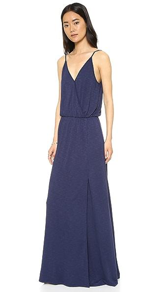 Lanston Back Bar Slit Maxi Dress - Mystic at Shopbop