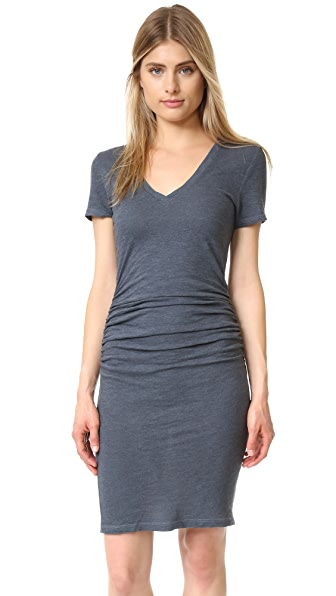 Lanston Ruched T-Shirt Dress - Pacific at Shopbop