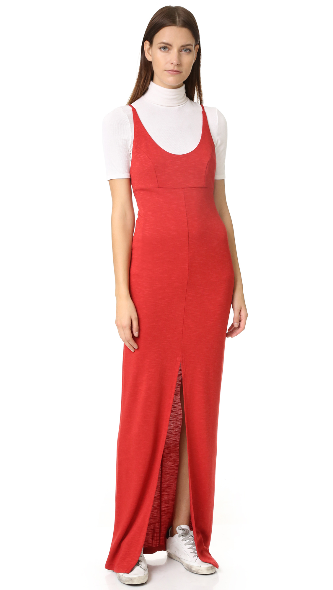 Lanston X Back Maxi Dress - Russet at Shopbop