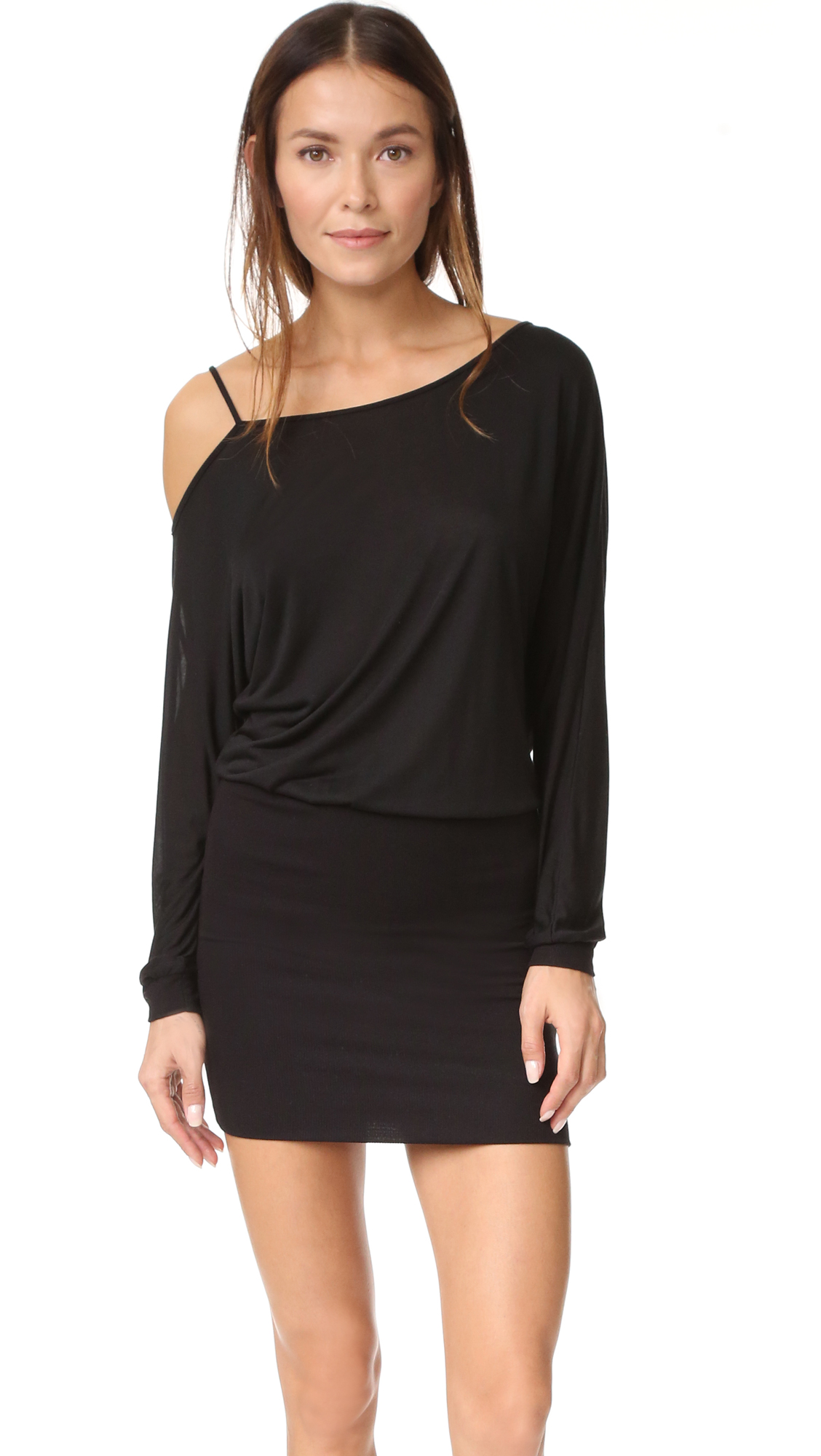 Lanston Off The Shoulder Mini Dress - Black at Shopbop