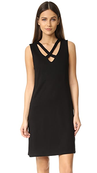 Lanston X Tank Dress - Black