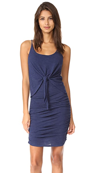 Lanston Tie Front Dress