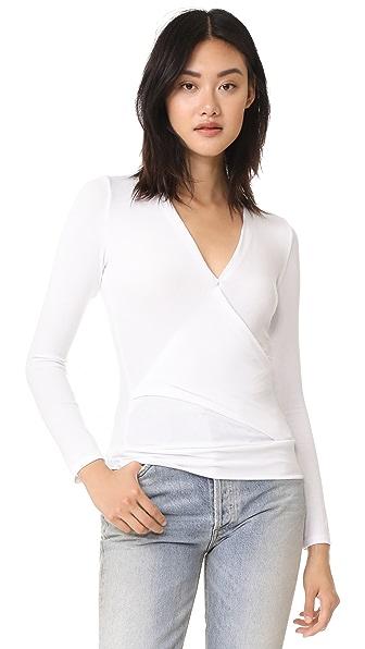 Lanston Crossover Pullover - White