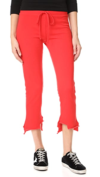 Lanston High Low Pants - Flame