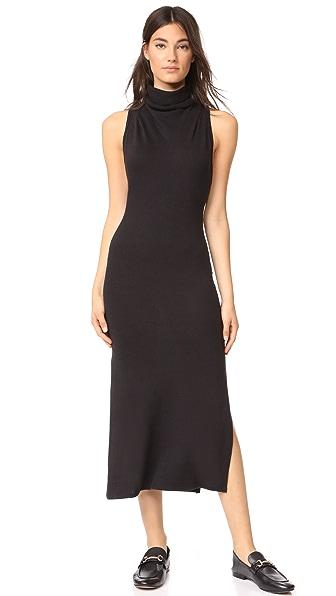 Lanston Turtleneck Slit Dress at Shopbop