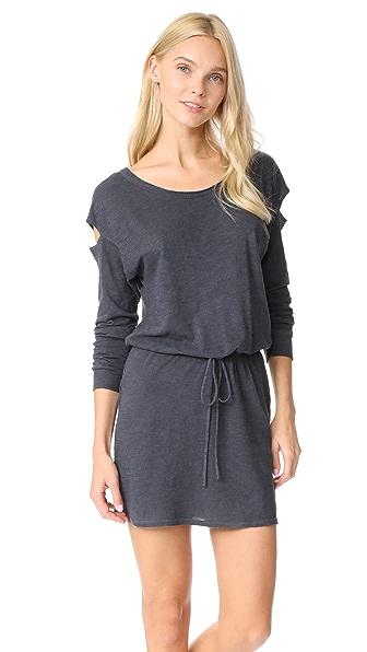 Lanston Drop Shoulder Cutout Mini Dress at Shopbop