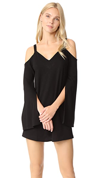 Lanston Cold Shoulder Mini Dress at Shopbop