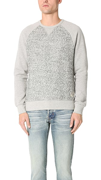 La Panoplie Wool Panel Sweatshirt