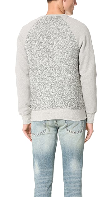 La Panoplie Wool Panel Sweatshirt