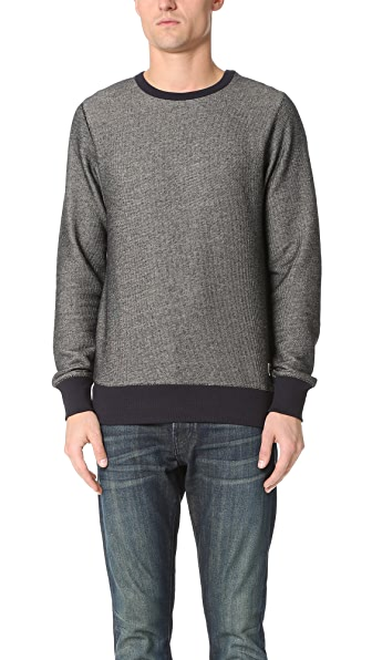 La Panoplie Elbow Patch Sweatshirt