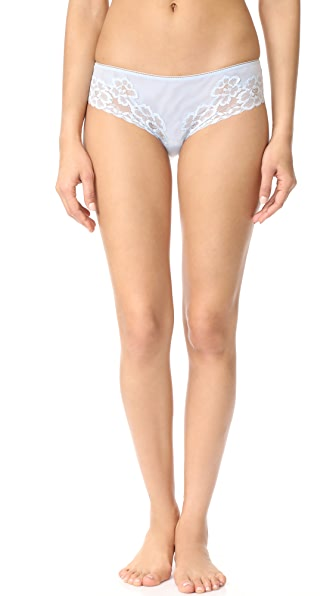 La Perla Primrose Field Medium Briefs - Azure