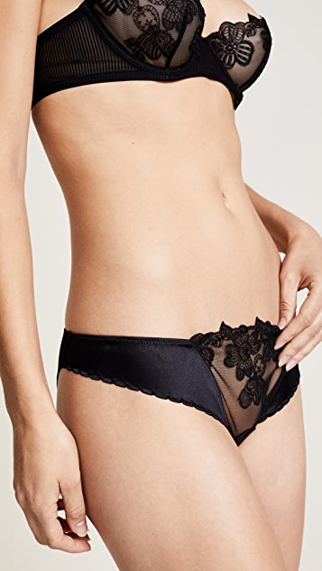 La Perla English Rose Bikini Panties