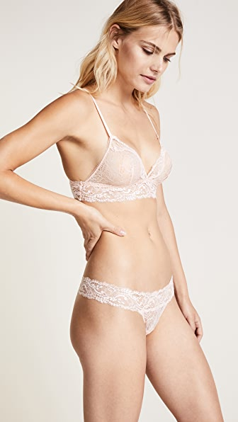La Perla Freedom Triangle Bra - Peach
