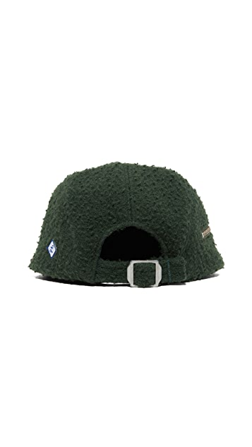 Larose Casentino Wool 5 Panel Zip Cap