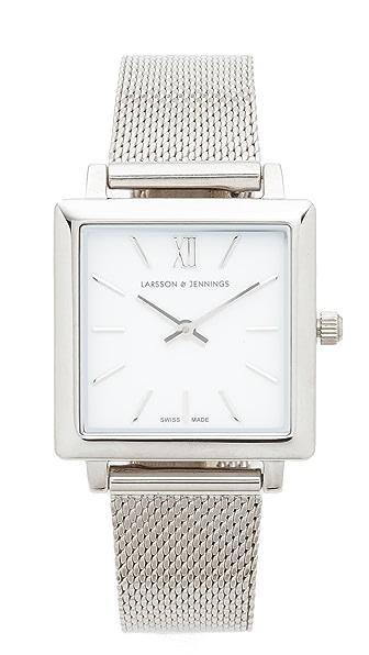 Larsson & Jennings Norse Watch - Silver/White