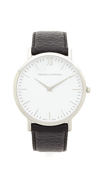 Larsson & Jennings Lugano Large Strap Watch at Shopbop