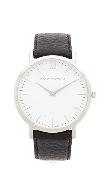 Larsson & Jennings Lugano Large Strap Watch