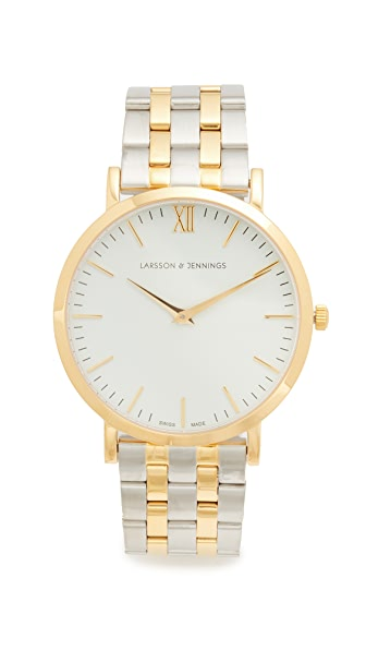 Larsson & Jennings Lugano 5 Link Watch at Shopbop