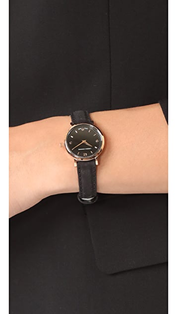 Larsson & Jennings Lugano Leather Strap Watch