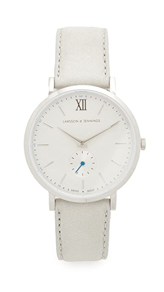 Larsson & Jennings Lugano II Watch - Silver/Light Grey/Blue