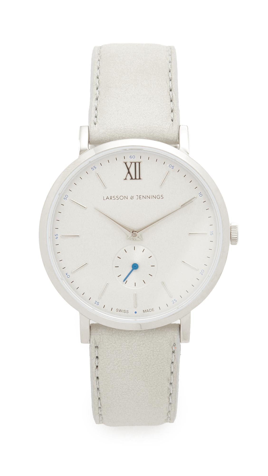 Larsson & Jennings Lugano II Watch - Silver/Light Grey/Blue