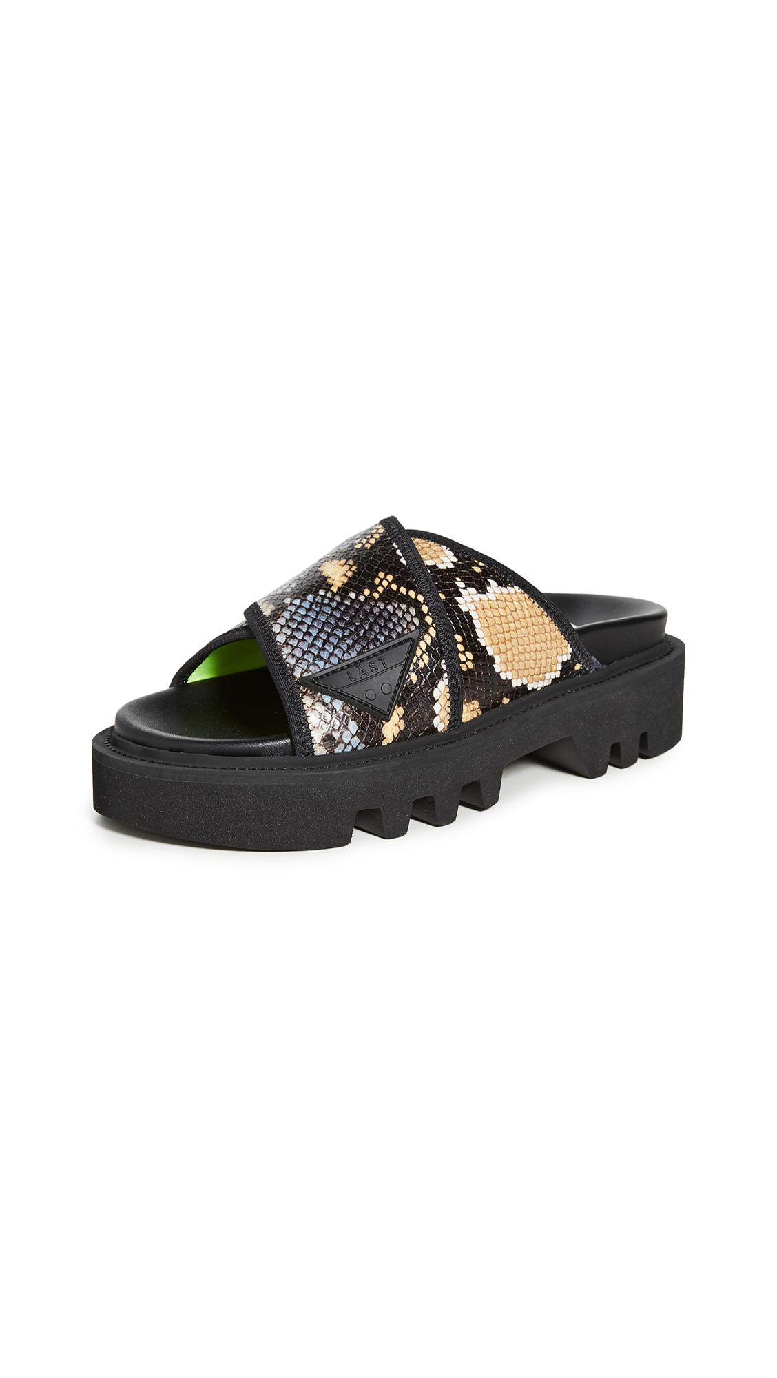 Buy LAST Prime Snake Sandals online, shop LAST