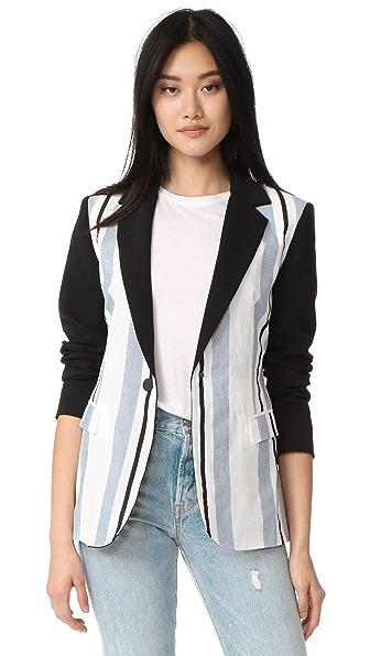 LAVEER Striped Revelry Blazer