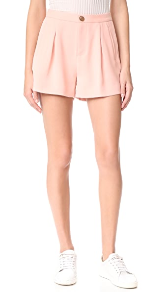 LAVEER Hutton Shorts In Blush