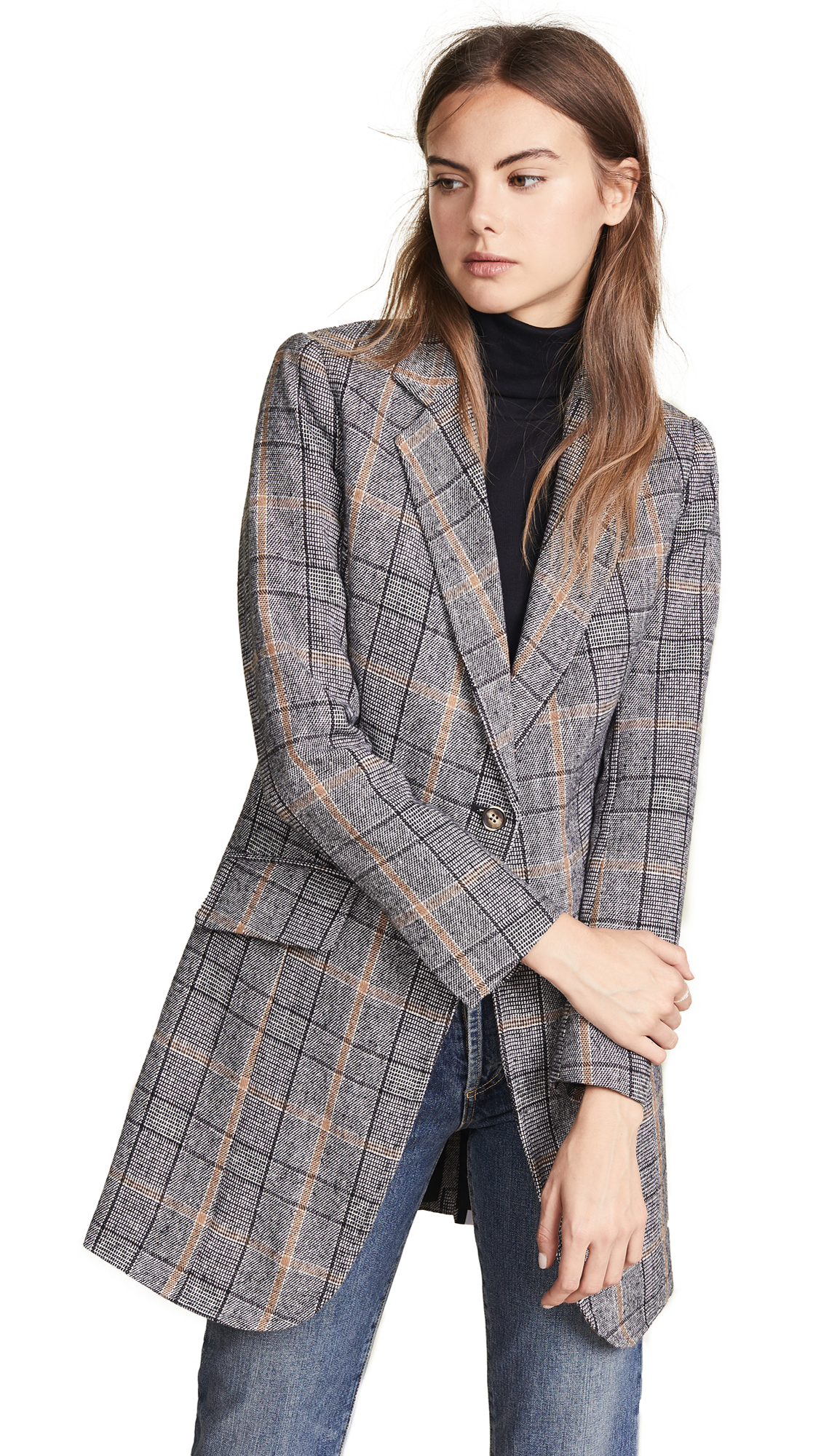 LAVEER Long Sharp Jacket